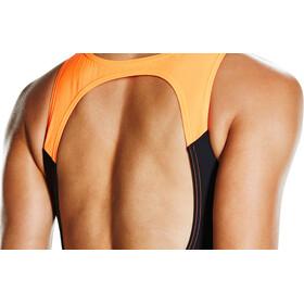 speedo Hydrasuit Women Black/Ultramarine/Fluo Orange